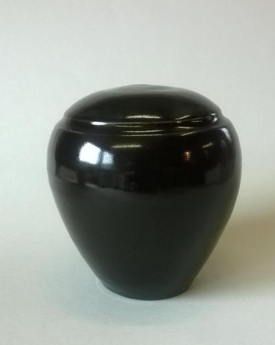 Standaard urn nieuw zwart